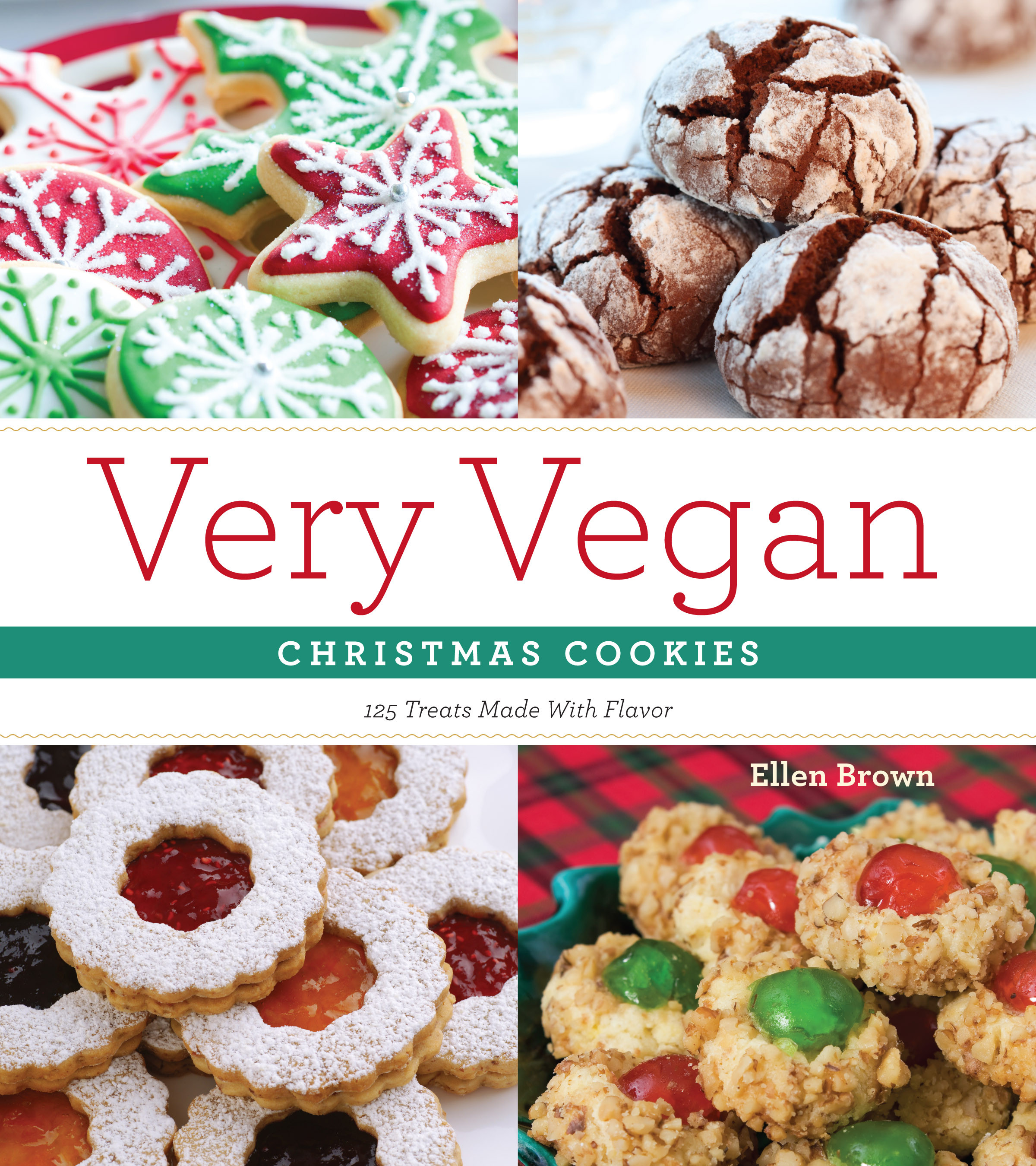 Christmas Cookies Book  Very Vegan Christmas Cookies