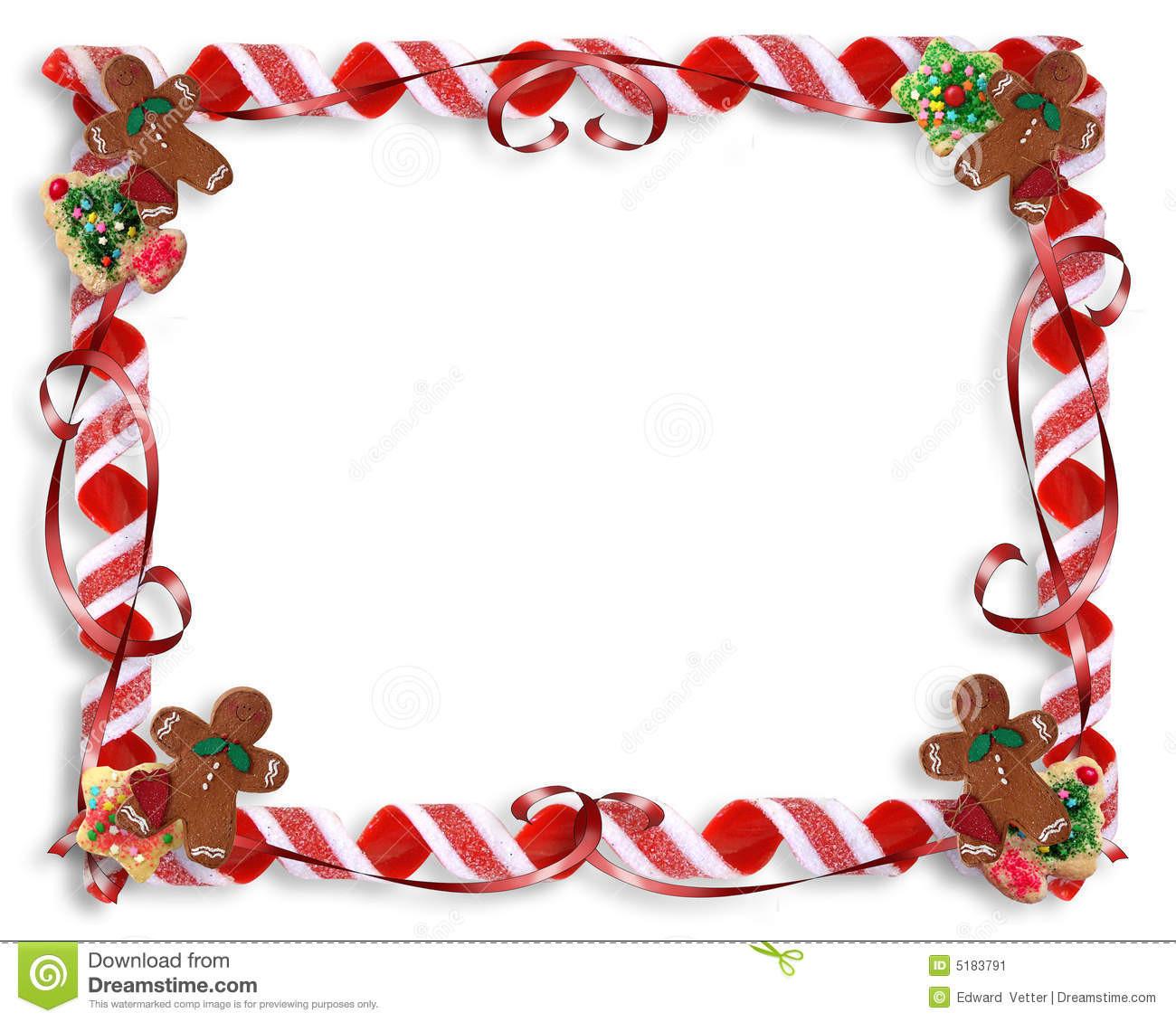 Christmas Cookies Borders  Navidad Border Gallery