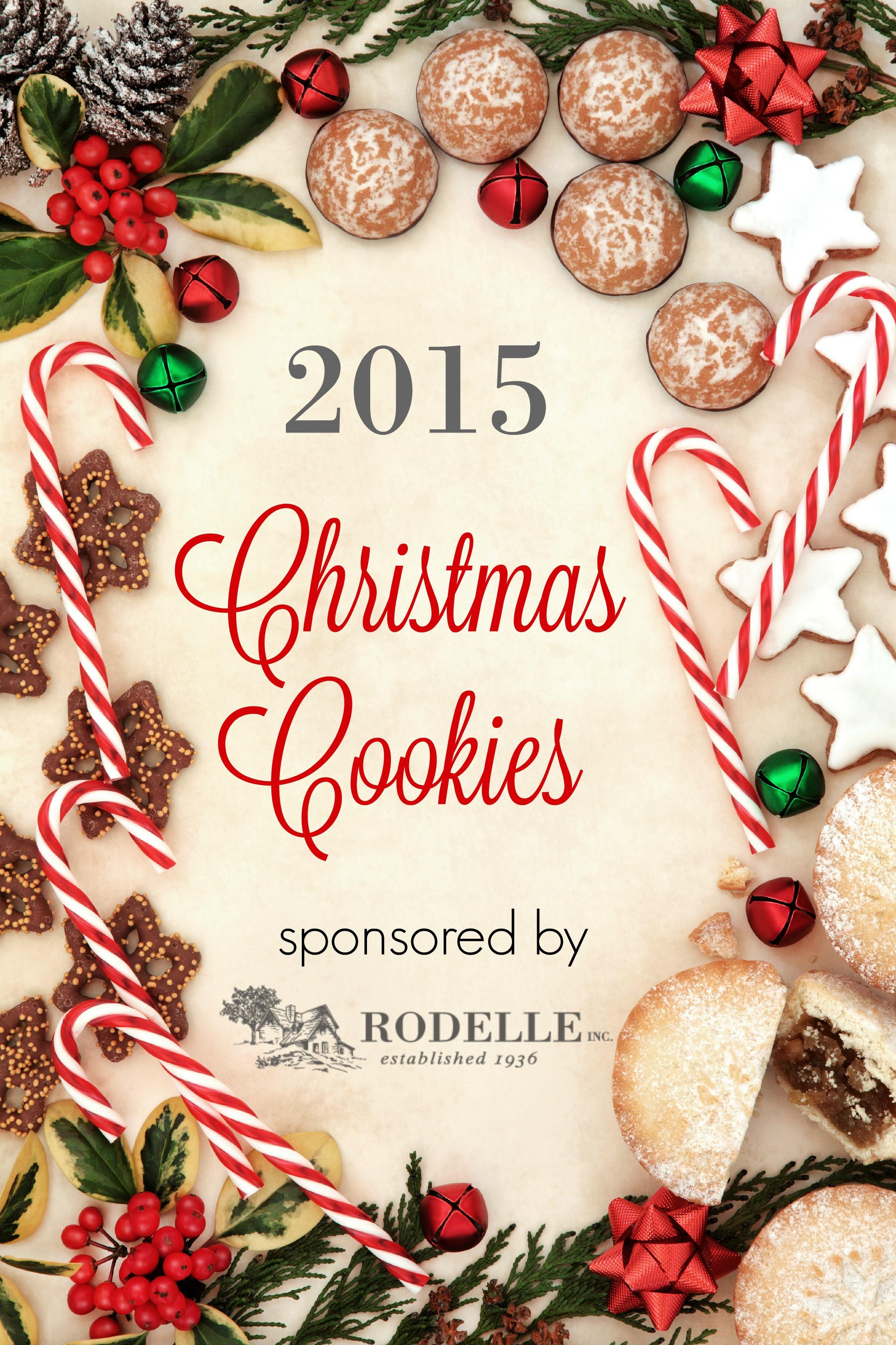 Christmas Cookies Borders  Almond Sugar Cookies