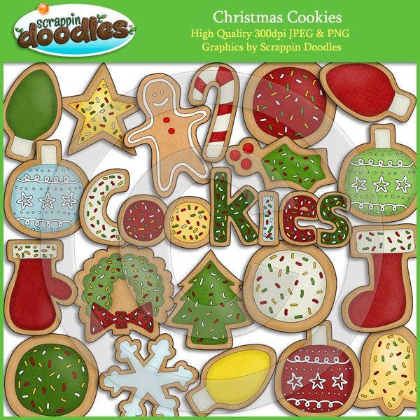 Christmas Cookies Clip Art  Christmas Cookies Clip Art