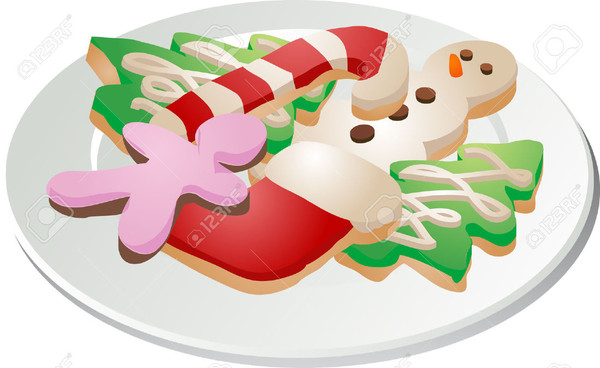 Christmas Cookies Clip Art  Free Printable Christmas Cookie Clipart