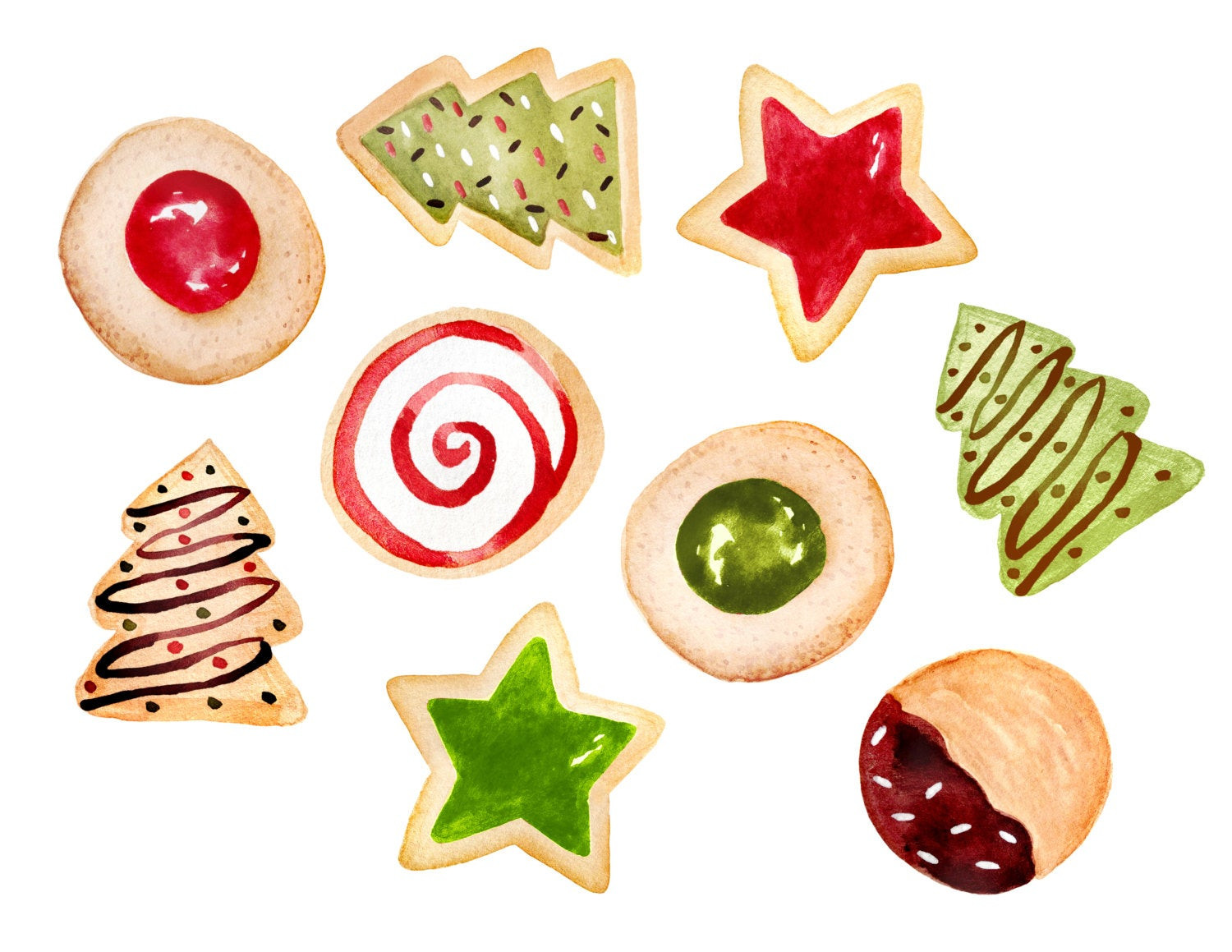Christmas Cookies Clipart  Christmas clipart christmas cookies clipart cookies