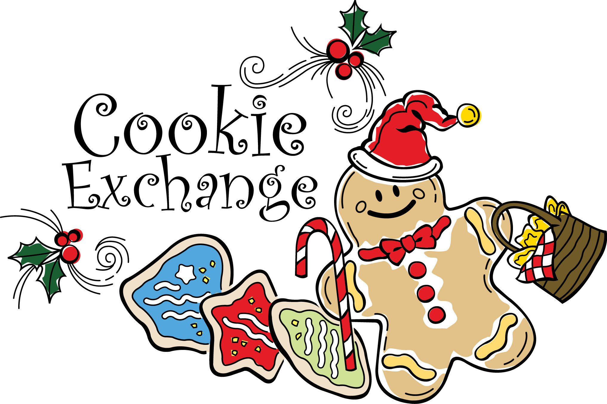 Christmas Cookies Clipart  Brentwood Library Events Calendar