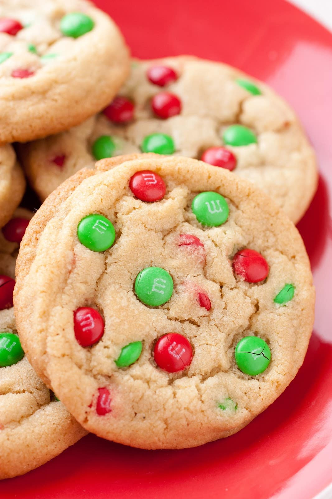 Christmas Cookies Com  M&M Cookies Christmas Style Cooking Classy