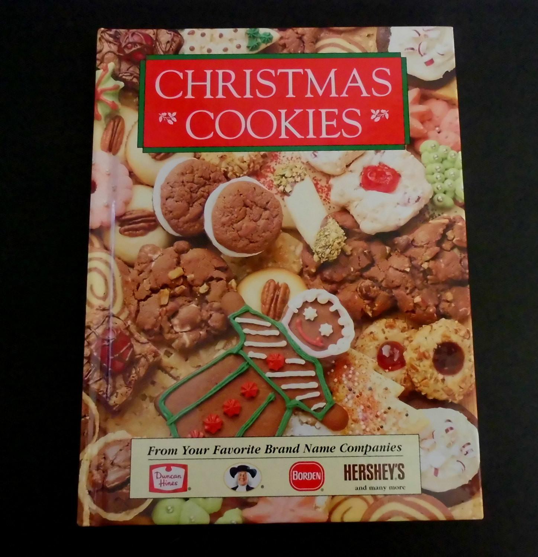 Christmas Cookies Cookbooks  Cookbook Christmas Cookies Favorite Brands Like New Holiday