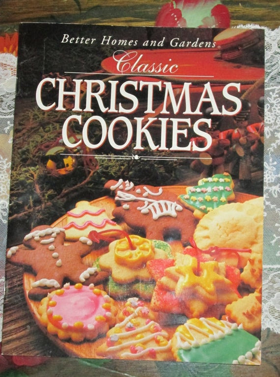 Christmas Cookies Cookbooks  Better Homes and Gardens Classic Christmas Cookies Cookbook