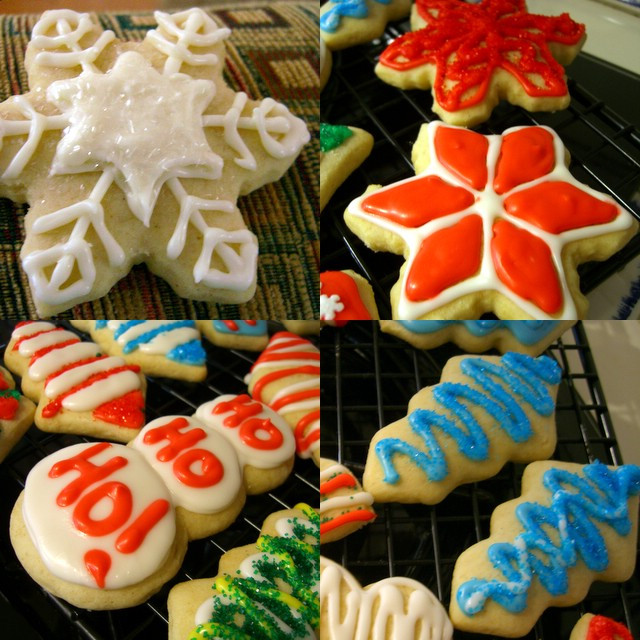Christmas Cookies Cut Outs  Soft Cutout Christmas Cookies Baking Bites