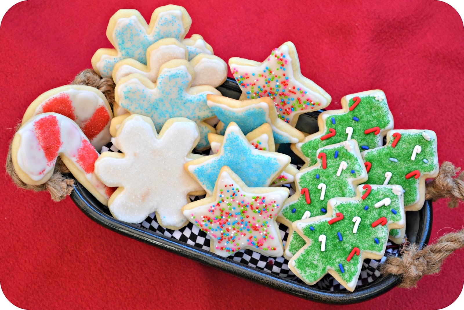 Christmas Cookies Cut Outs  Macke Monologues Christmas Sugar Cutouts