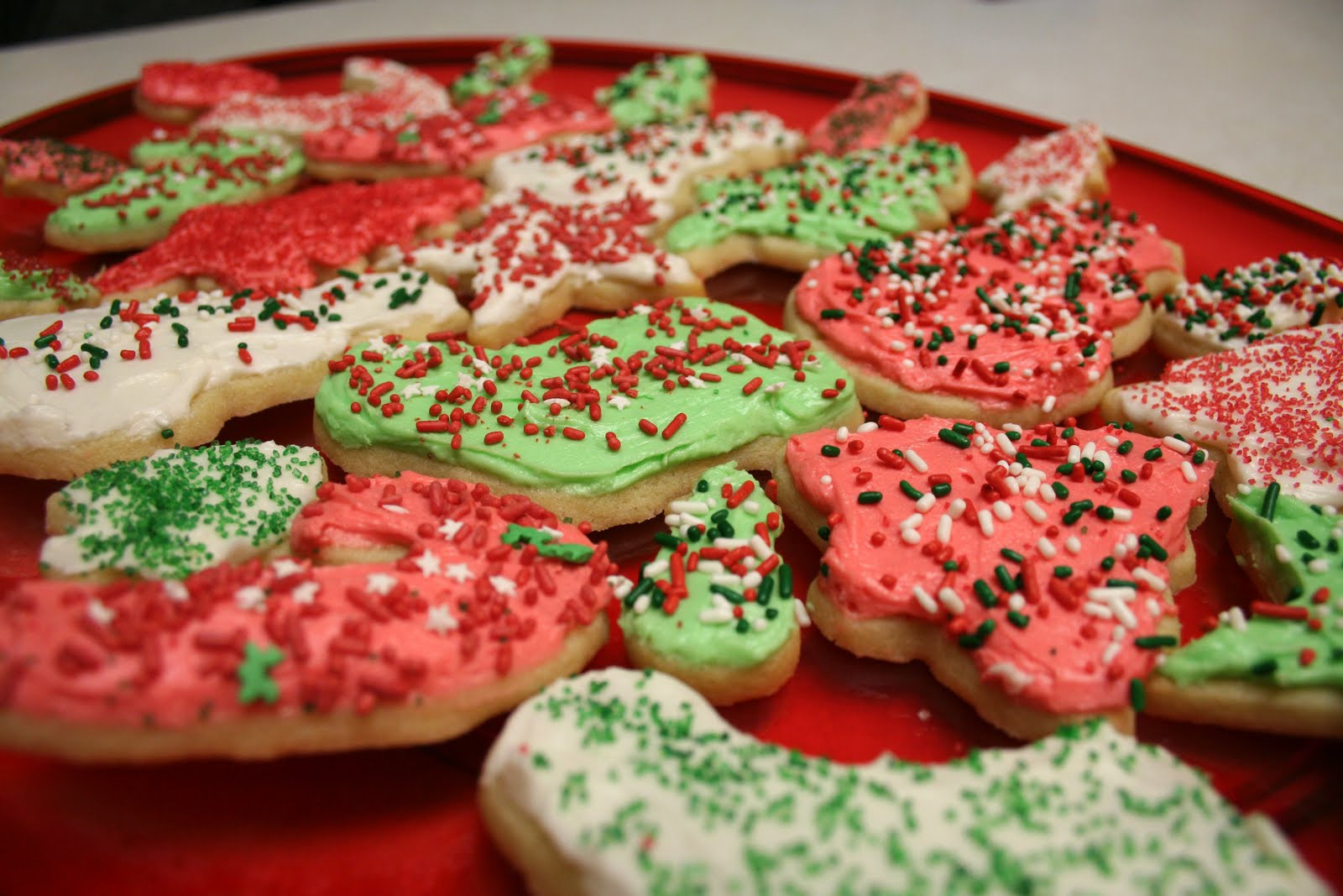 Christmas Cookies Cut Outs Recipes  Chelsea Gets Married Christmas Recipe 2 Cut Out Cookies