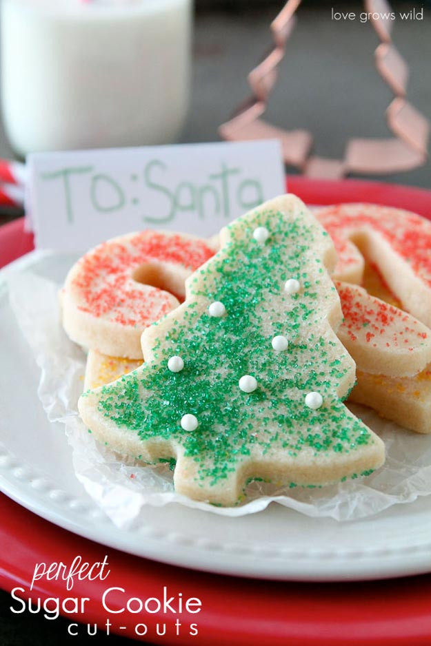Christmas Cookies Cut Outs Recipes  Best Christmas Cookie Recipes DIY Projects Craft Ideas