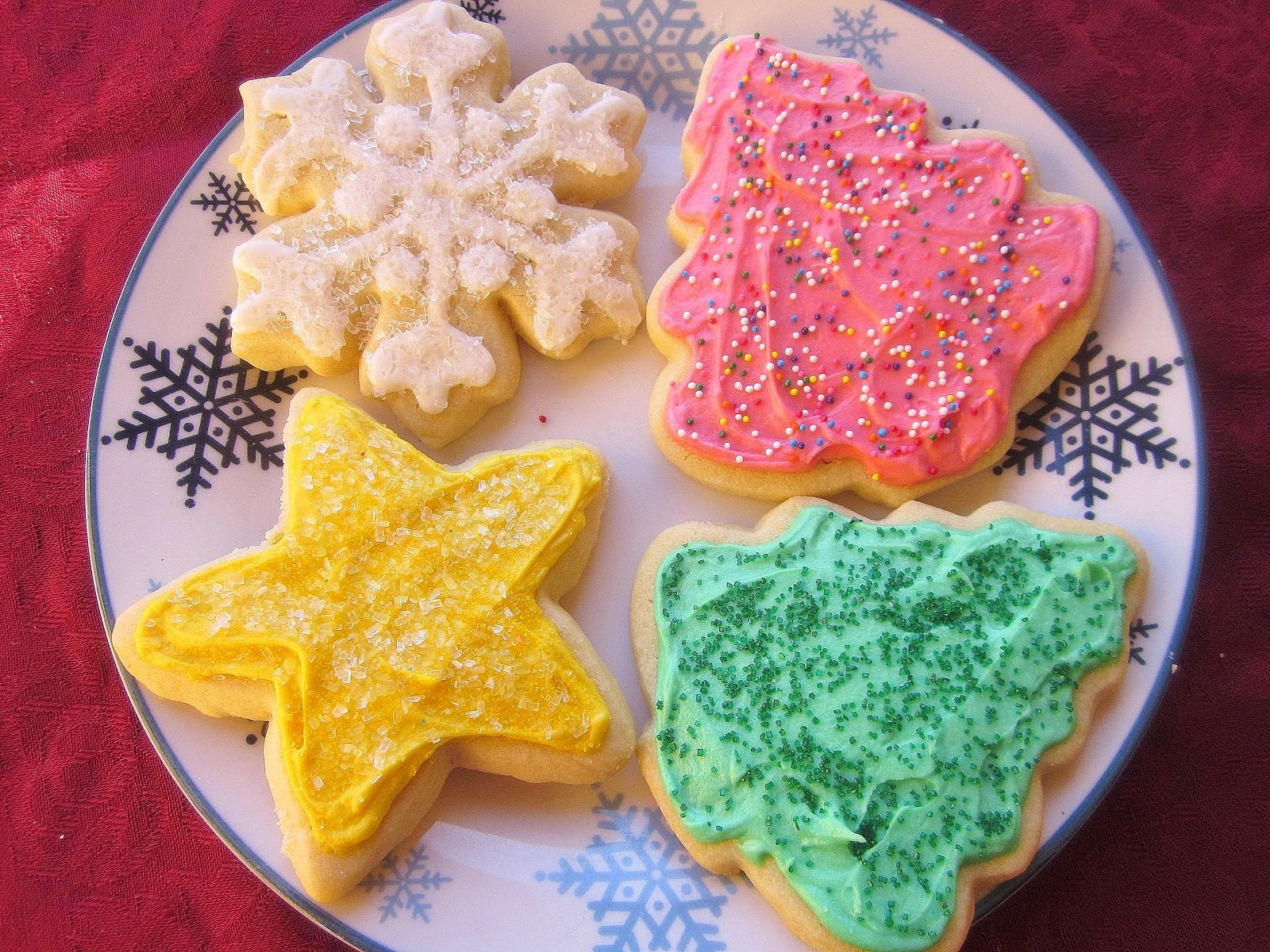 Christmas Cookies Cut Outs Recipes  Dimples & Delights Soft & Thick Cut Out Sugar Cookies