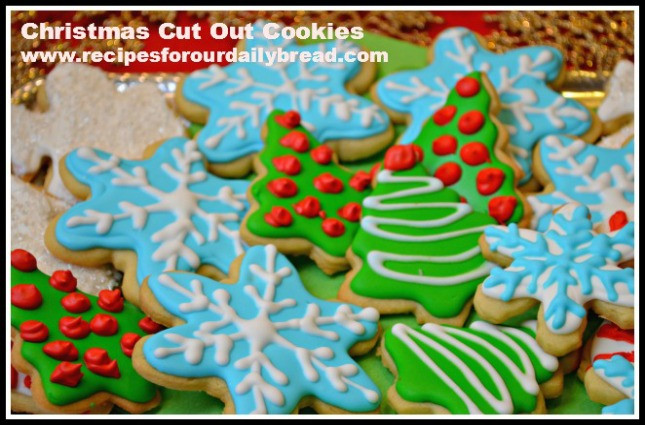 Christmas Cookies Cut Outs Recipes  Butter Cookies Cut Out for Christmas recipesforourdaily