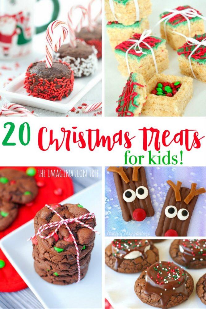 Christmas Cookies For Kids  20 Christmas Treats for Kids The Imagination Tree
