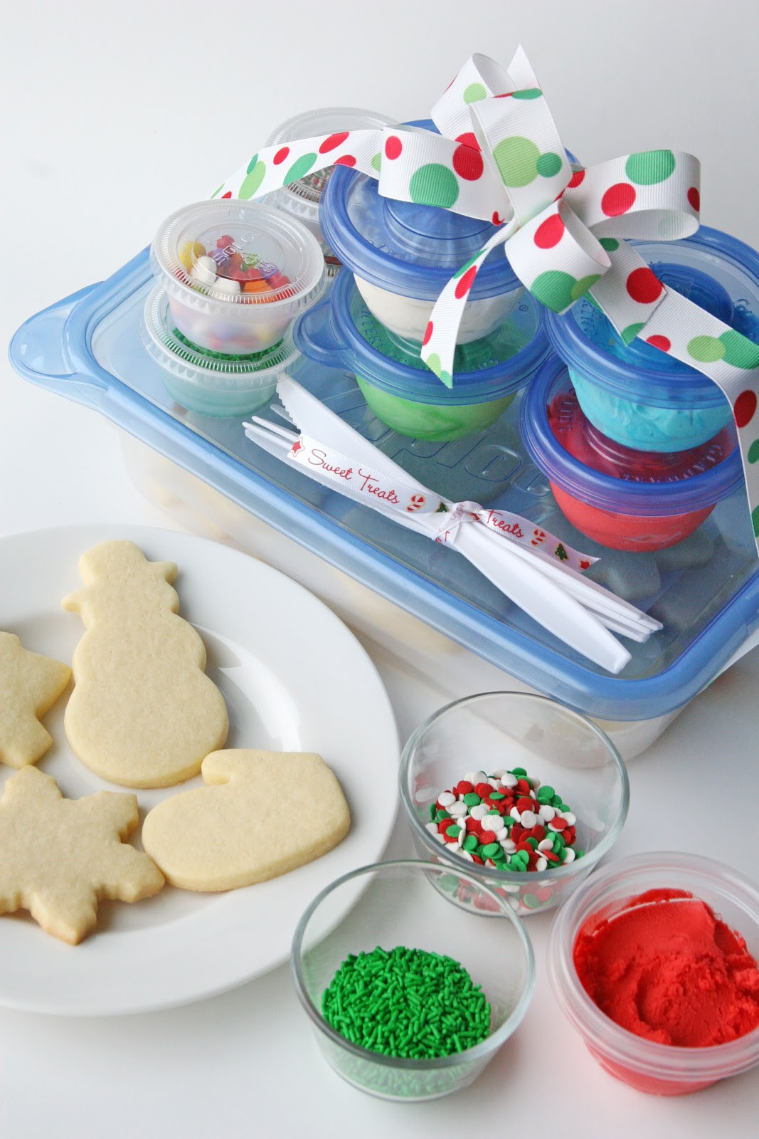 Christmas Cookies For Kids  Cookie Decorating Kits for Kids and Easy Butter Frosting