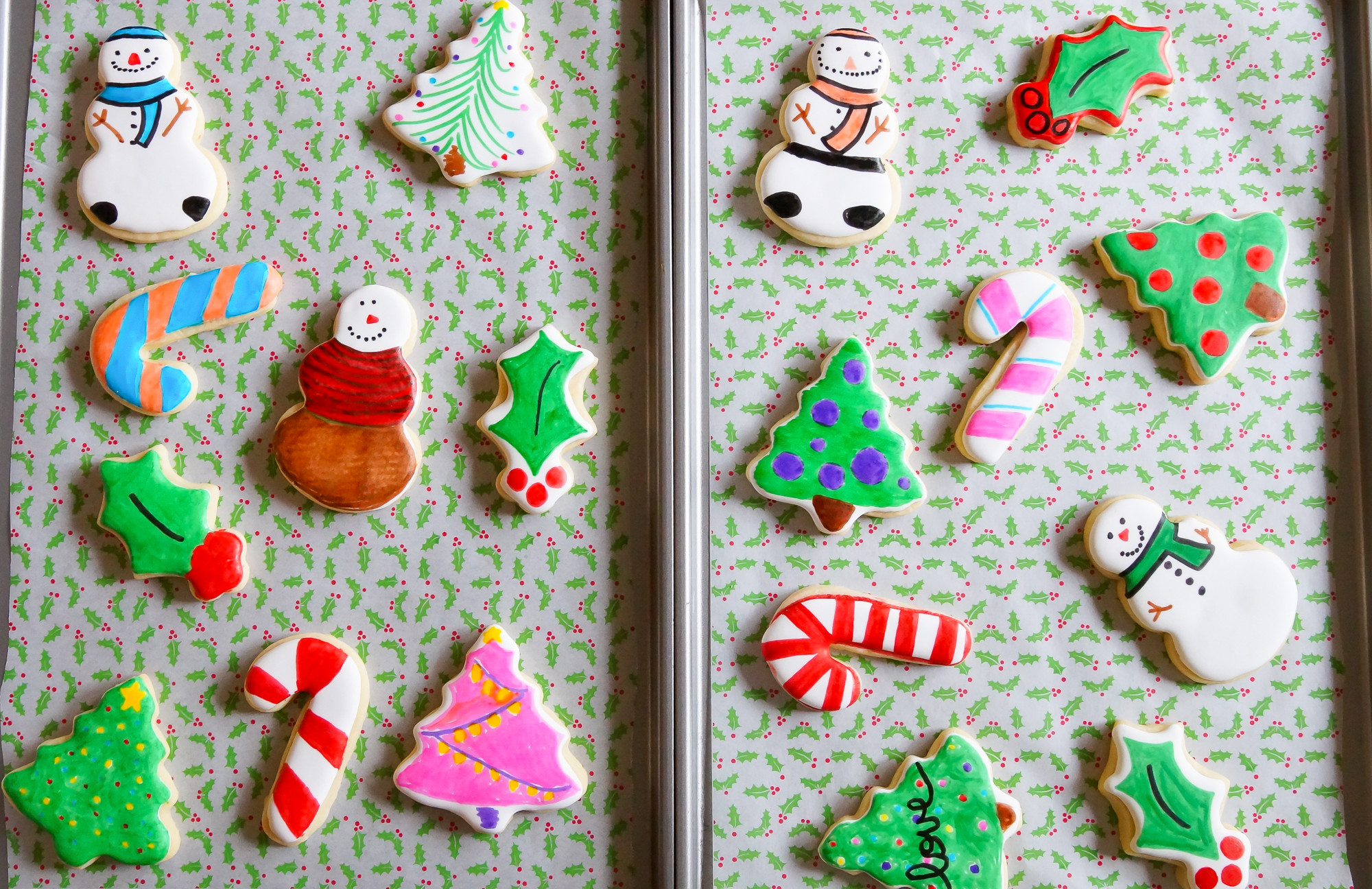 Christmas Cookies For Kids  Easy Cookie Decorating with Kids