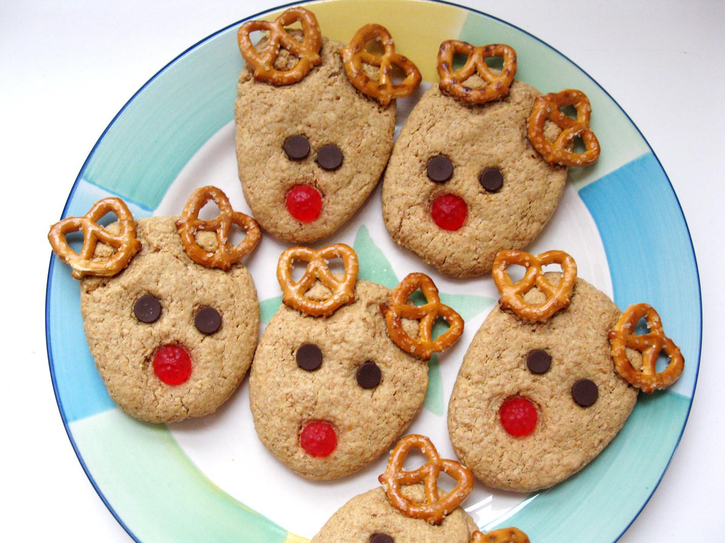 Christmas Cookies For Kids  Rudolph Reindeer Cookies