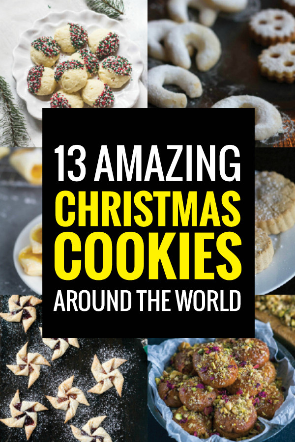 Christmas Cookies From Around The World  Christmas Cookies From Around the World Bacon is Magic