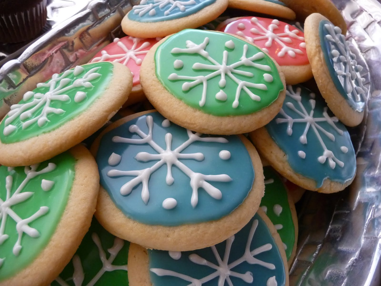 Christmas Cookies Frosting Recipes  Homemade Christmas Recipe Features The Scrap Shoppe
