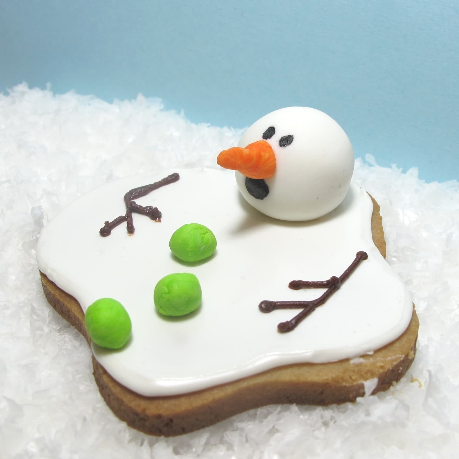 Christmas Cookies Funny  the original melting snowman cookies the decorated cookie