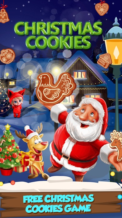 Christmas Cookies Games  App Shopper Christmas Cookie Maker Party Games
