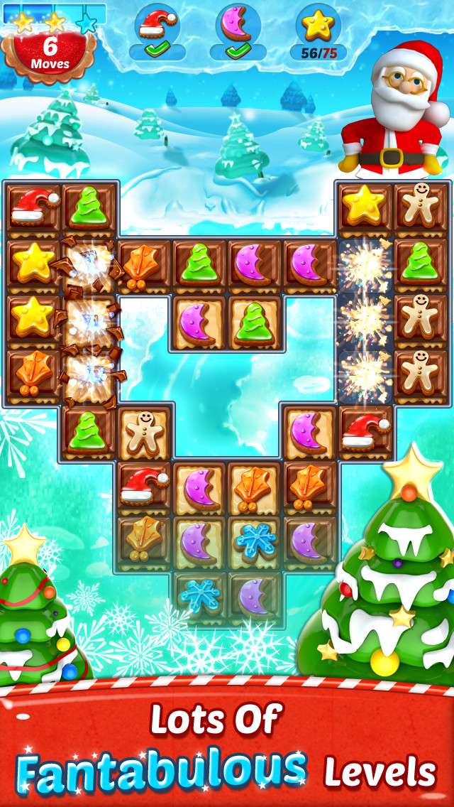 Christmas Cookies Games  Christmas Cookie Match 3 Game App for All New All Game App
