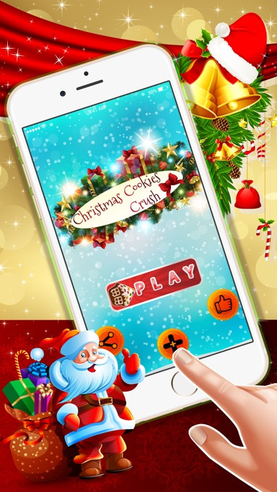 Christmas Cookies Games  Christmas Cookies Crush A fun match 3 game for Xmas
