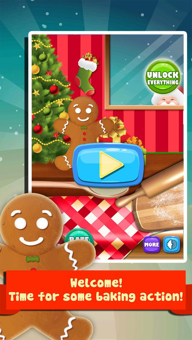 Christmas Cookies Games  App Shopper Christmas Cookie Maker Salon Fun Dessert
