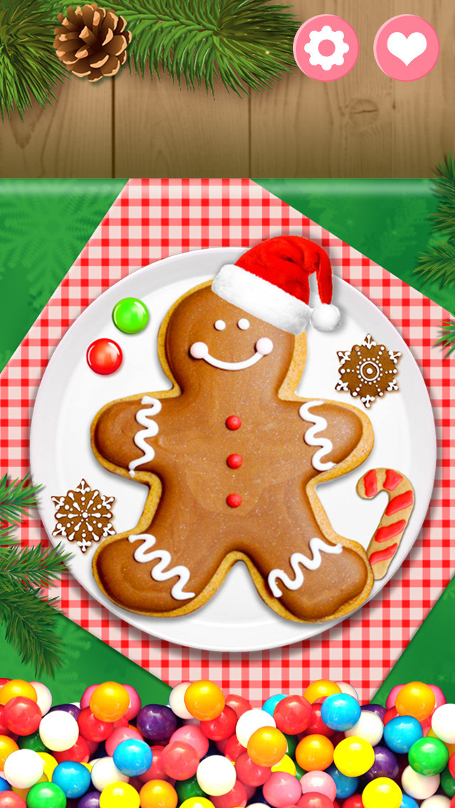 Christmas Cookies Games  App Shopper Gingerbread Christmas Cookies Holiday