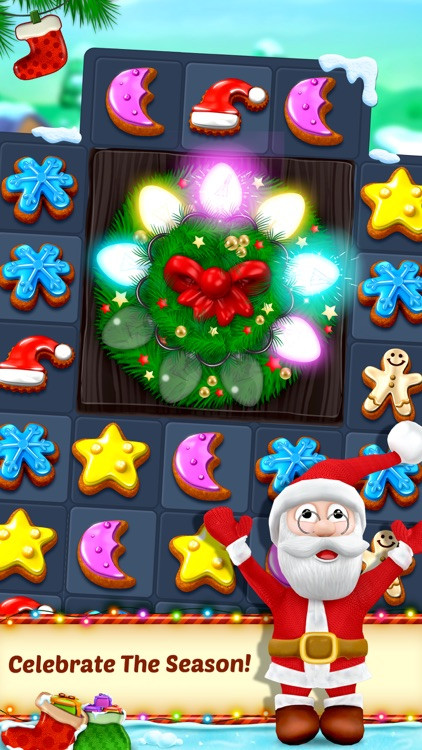 Christmas Cookies Games  Christmas Cookie Match 3 Game by RV AppStudios LLC