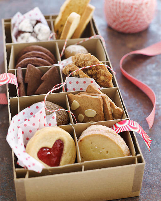 Christmas Cookies Gifts  Cookie Gift Boxes
