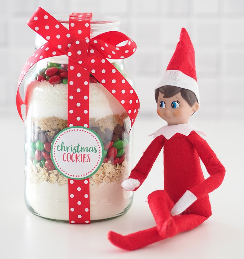 Christmas Cookies Gifts  Gift Idea Christmas Cookie Mix in a Jar The Organised