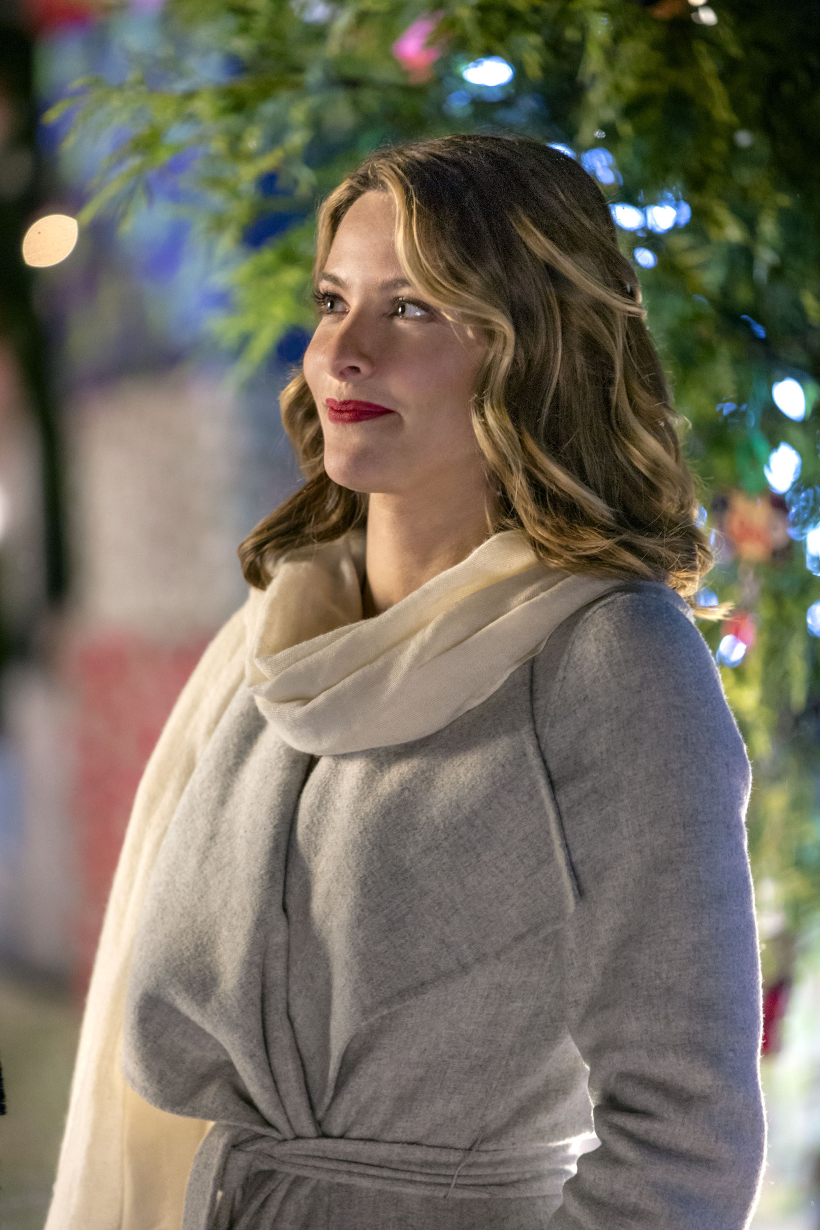 Christmas Cookies Hallmark Movie Cast  Jill Wagner as Hannah on Christmas Cookies
