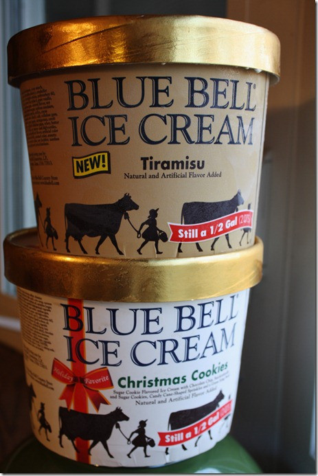 Christmas Cookies Ice Cream  can't leave 'em alone bars