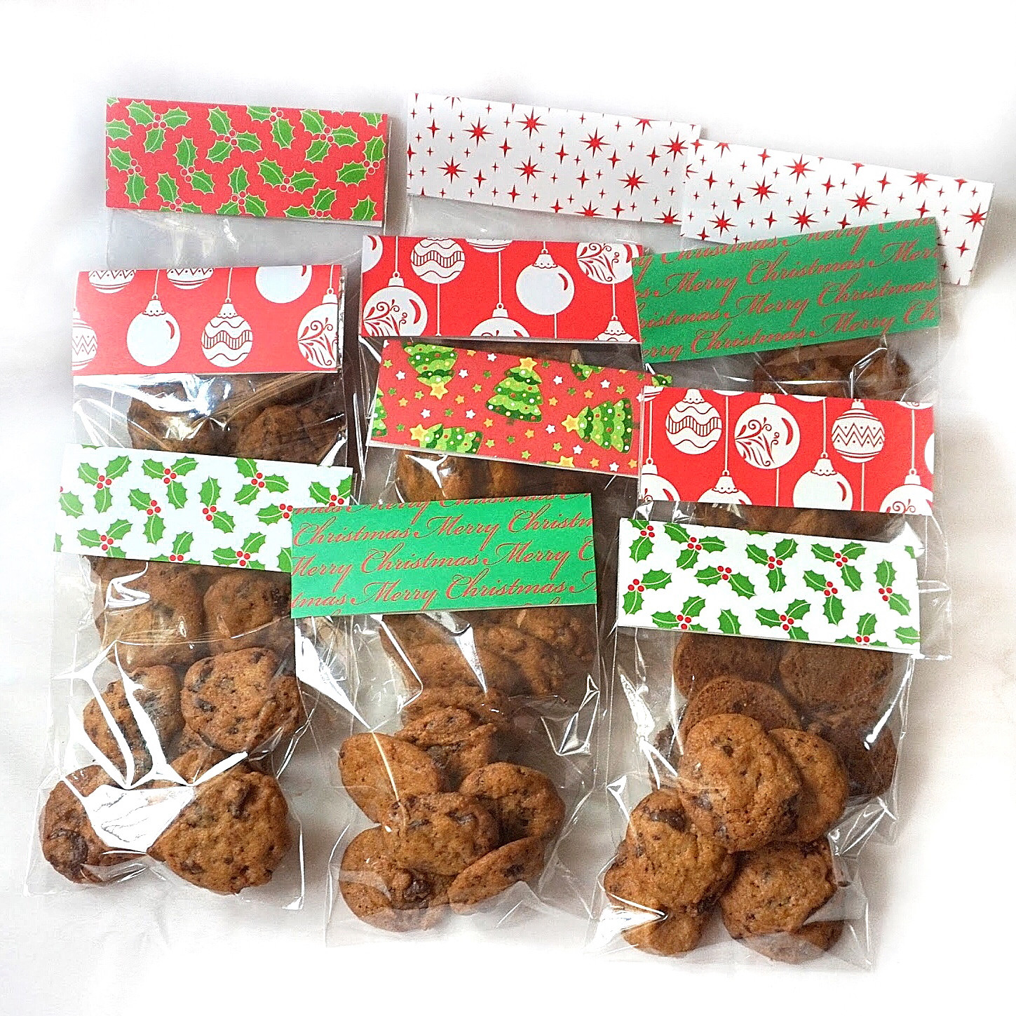 Christmas Cookies In A Bag  Sherbakes DIY Christmas Cookie Bags as Gifts