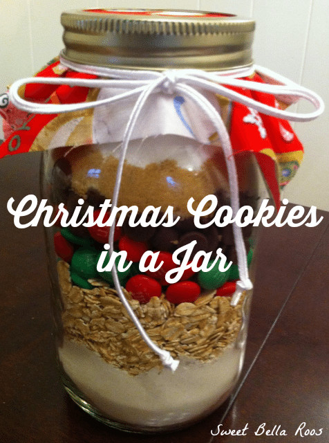 Christmas Cookies In A Jar  Christmas Cookies in a Jar Grace and Good Eats