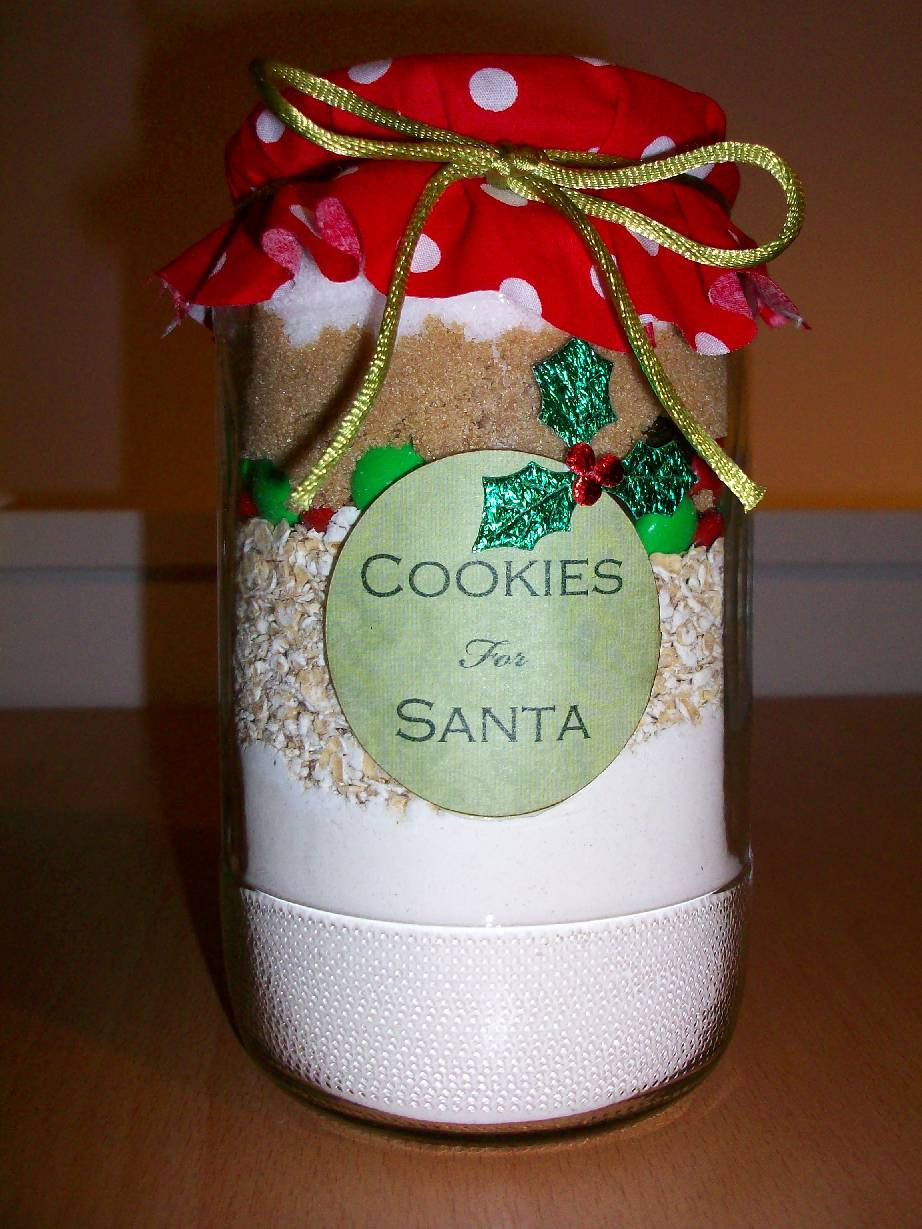 Christmas Cookies In A Jar  365 DAYS OF PINTEREST CREATIONS day 190 christmas
