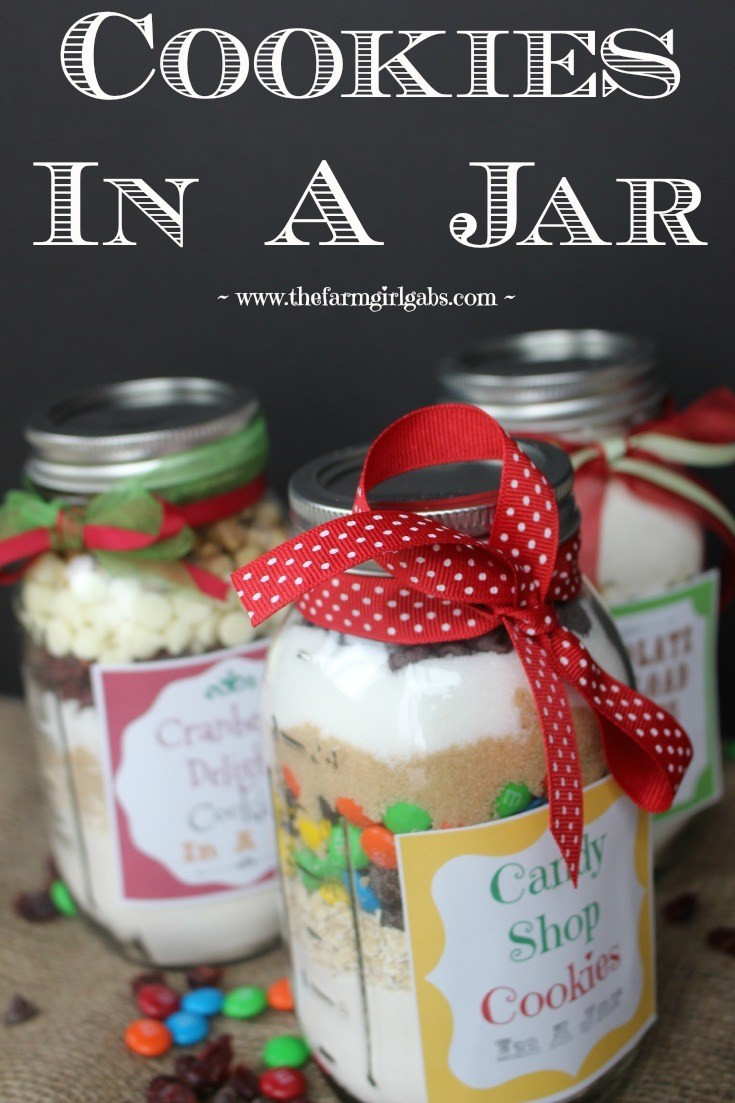 Christmas Cookies In A Jar  Cookies in a Jar A Perfect Gift Idea
