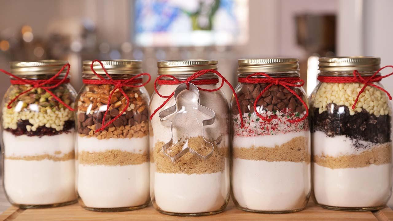 Christmas Cookies In A Jar  5 Cookie In A Jar Recipes