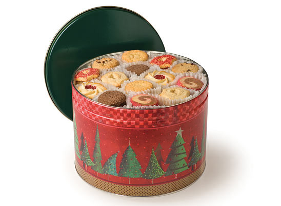 Christmas Cookies In A Tin  The Chicago Cookie Store Maurice Lenell Holiday Tins