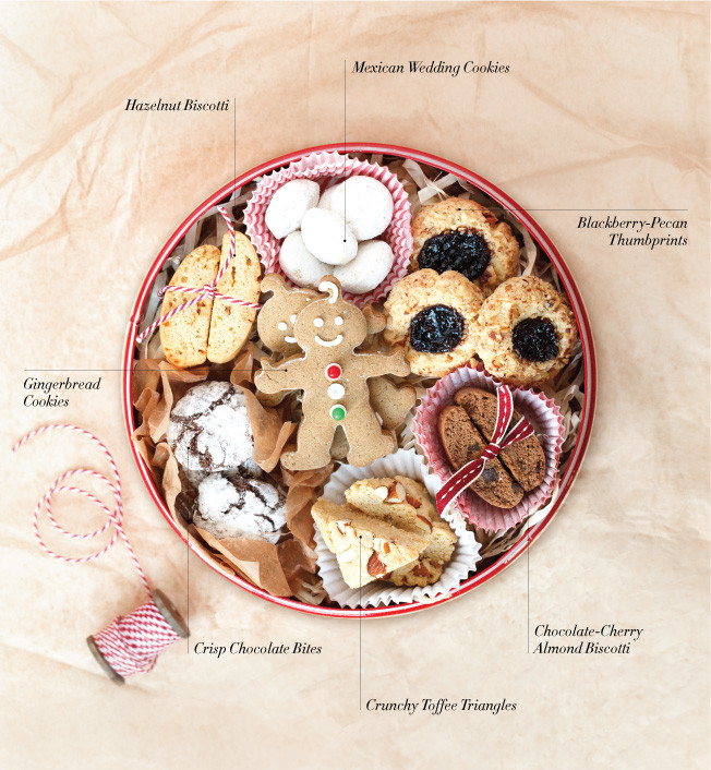 Christmas Cookies In A Tin  Christmas Cookie Tin Ideas