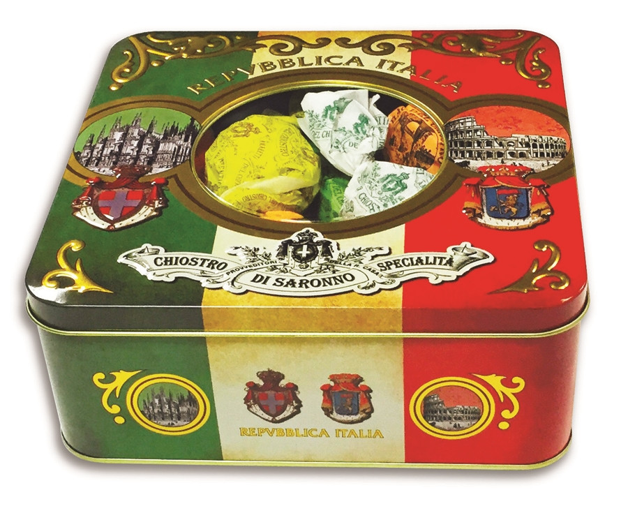 Christmas Cookies In A Tin  Italian Holiday Cookies in a Gift Tin