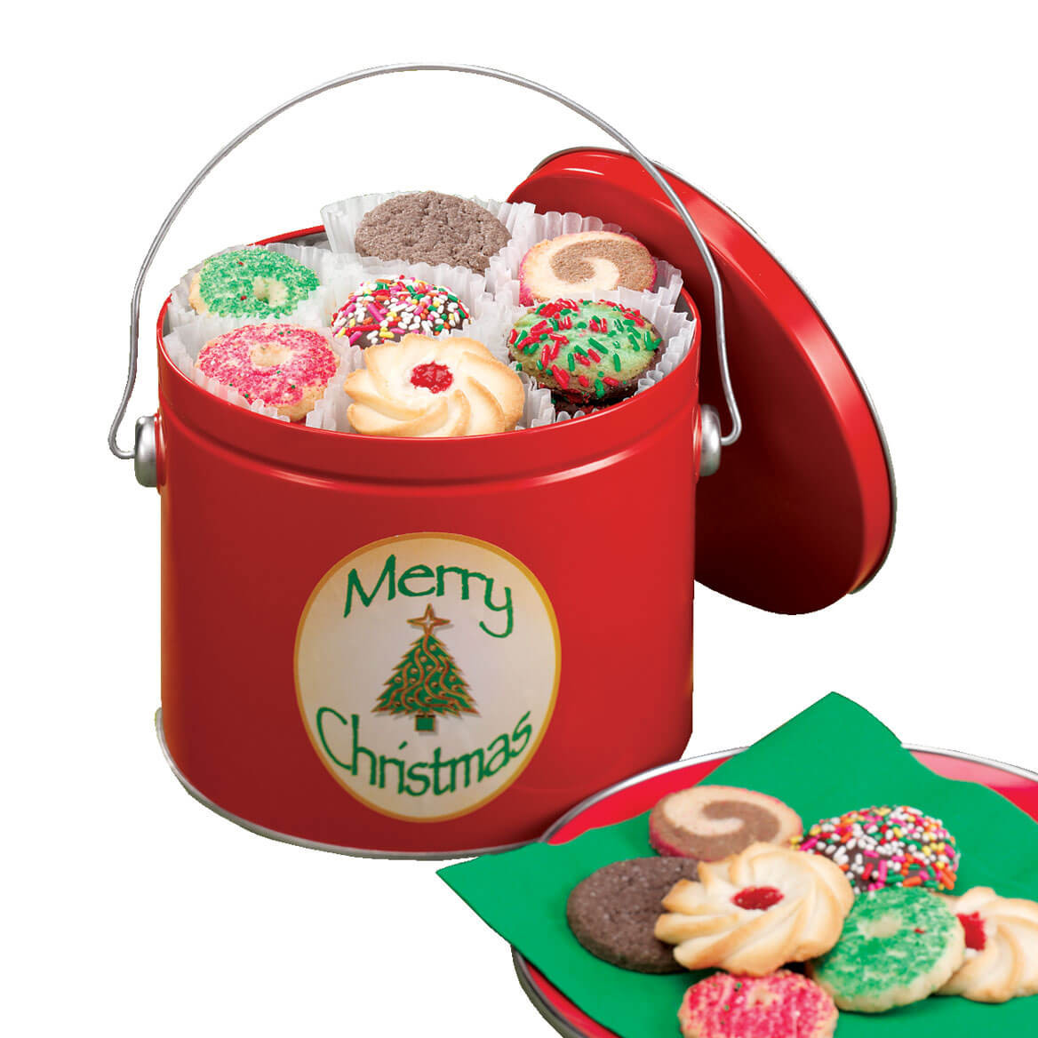 Christmas Cookies In A Tin  Christmas Cookie Tin Christmas Cookies In A Tin Miles