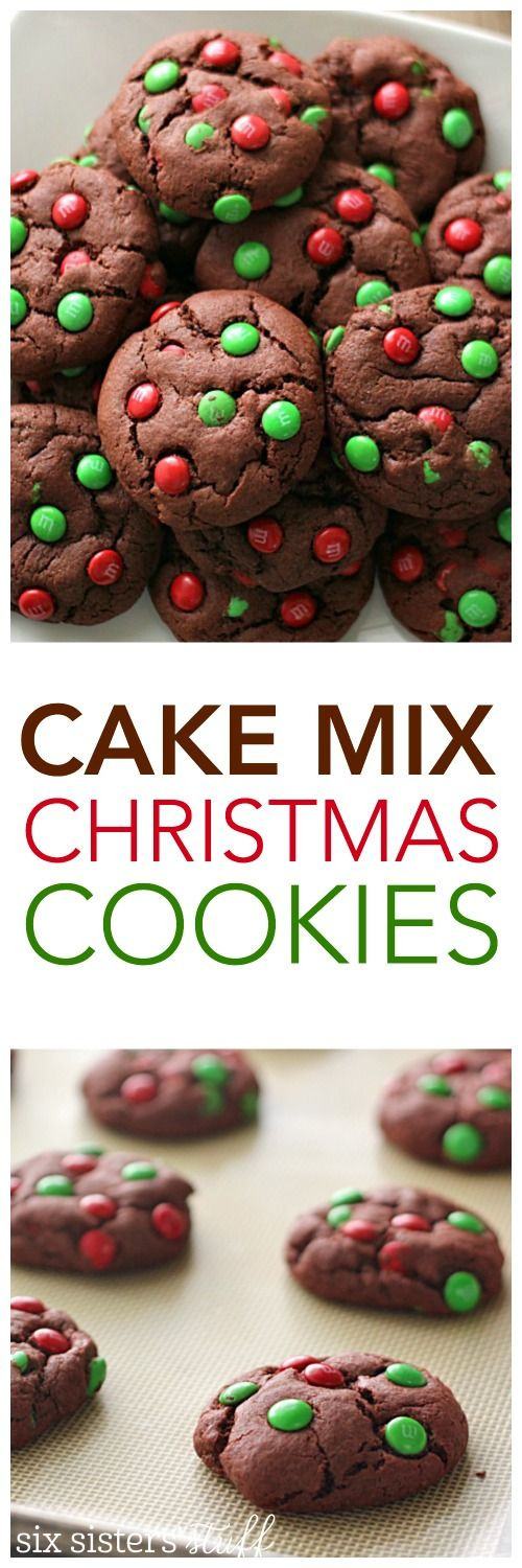Christmas Cookies Mix  1000 ideas about Cake Mix Cookies on Pinterest