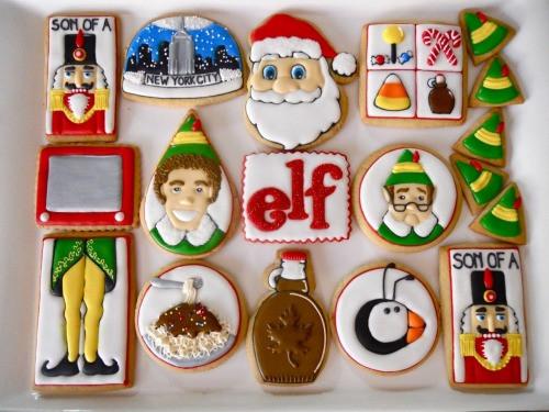 Christmas Cookies Movie  midnight in paris ELF christmas cookies buddy the elf