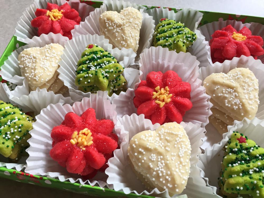 Christmas Cookies Online  Christmas Spritz Cookies Direct to Consumer