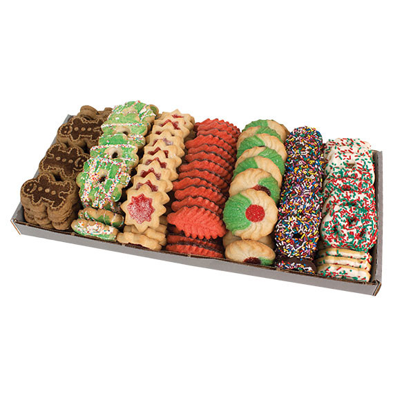 Christmas Cookies Order Online  5 lb Holiday Variety Tray – Cookies United line Store