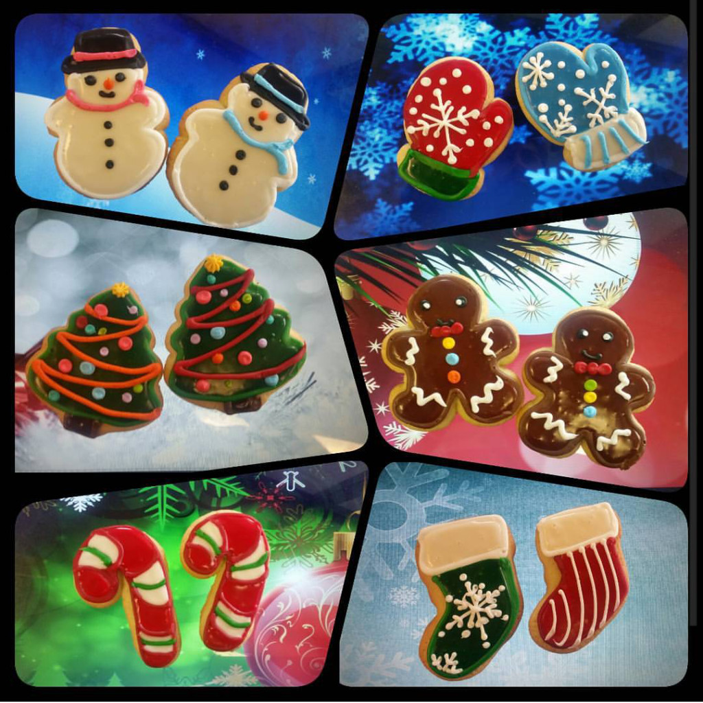 Christmas Cookies Order Online  Decorated Sugar Cookies The Makery Cake pany
