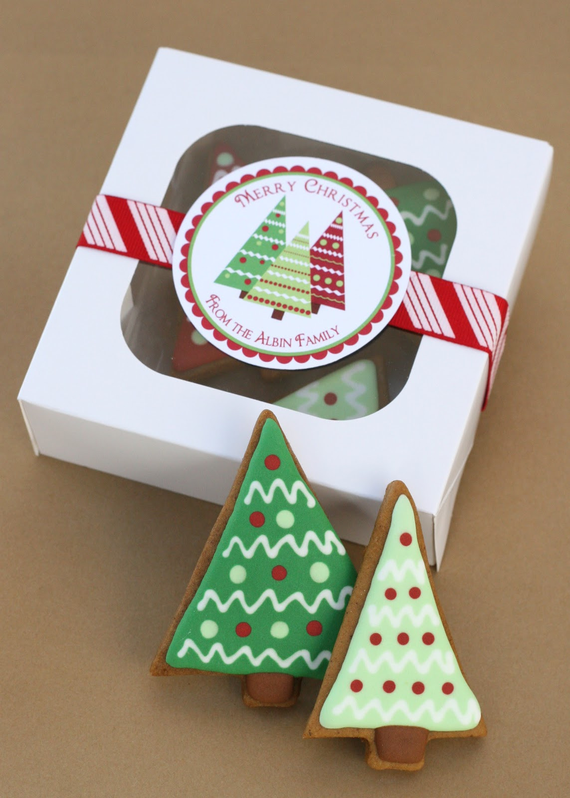 Christmas Cookies Packaging  Christmas Trees Gingerbread and a Giveaway… – Glorious