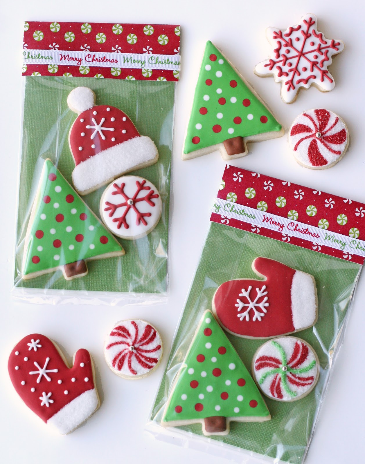 Christmas Cookies Packaging  Christmas Cookies and Cute Packaging – Glorious Treats