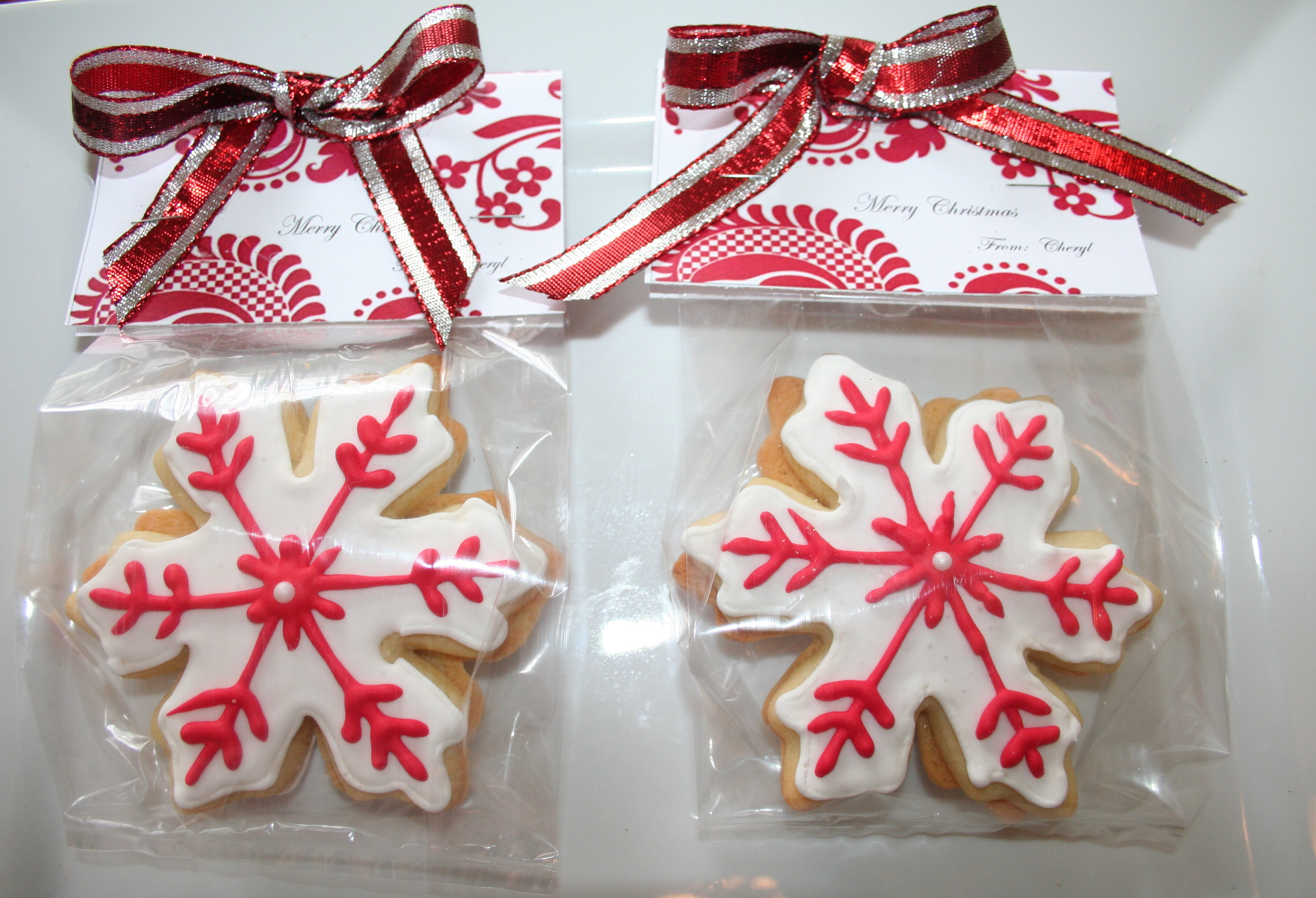 Christmas Cookies Packaging  How to Package Sugar Cookies Beautifully